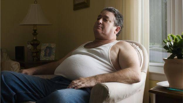 Risco de obesidade por ficar muito tempo sentado