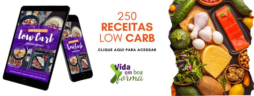 250 receitas low carb emagrecedora